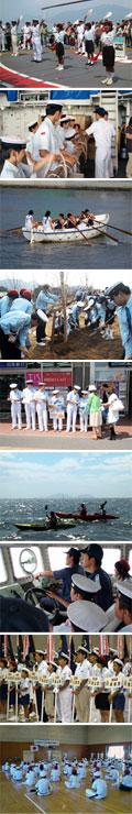 福山海洋少年団の活動
